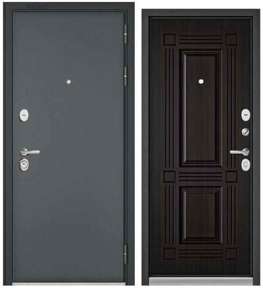 Дверь входная Бульдорс Standart 90 черный шелк  - купить в Орехово-Зуево