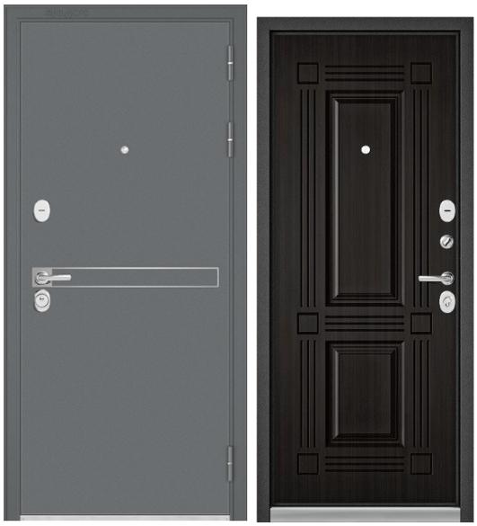 Дверь входная Бульдорс Standart-90 D-4 черный шелк - купить в Орехово-Зуево