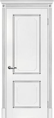 Дверь межкомнатная Мариам Флоренция-2 (патина серебро) - купить в Орехово-Зуево