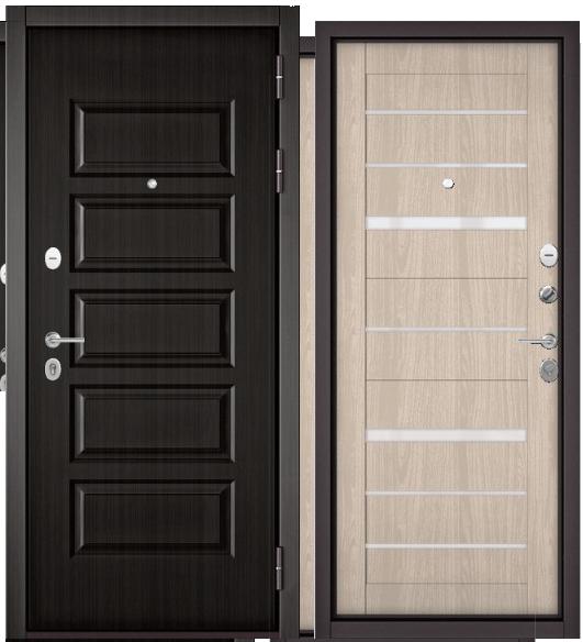 Дверь входная Бульдорс Бульдорс MASS 90 9S-108 ларче шоколад /Царга - купить в Орехово-Зуево