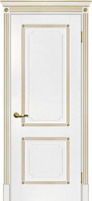 Дверь межкомнатная Мариам Флоренция-2 (патина золото) - купить в Орехово-Зуево