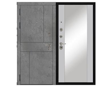 Дверь входная Дива Дива-48 зеркало - купить в Орехово-Зуево
