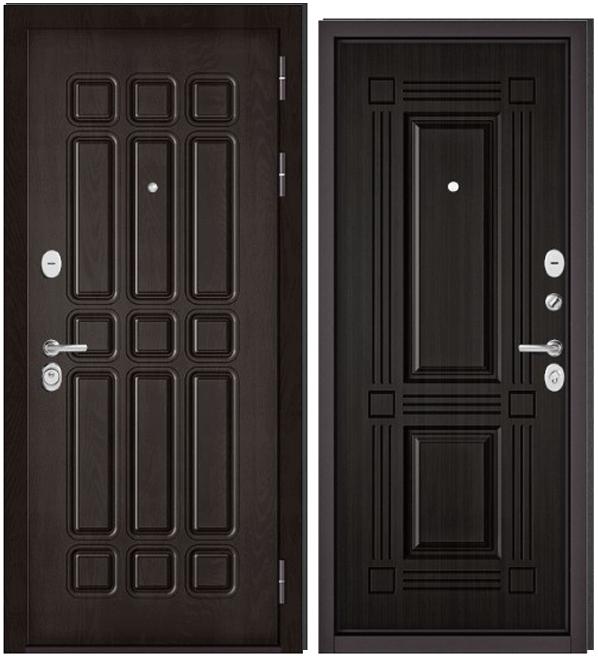 Дверь входная Бульдорс Бульдорс Standart 90. 9S-111 дуб шоколад - купить в Орехово-Зуево