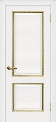 Дверь межкомнатная Мариам Мурано-1 патина золото/серебро - купить в Орехово-Зуево
