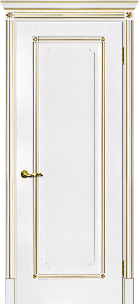 Дверь межкомнатная Мариам Флоренция-1 (патина золото) - купить в Орехово-Зуево