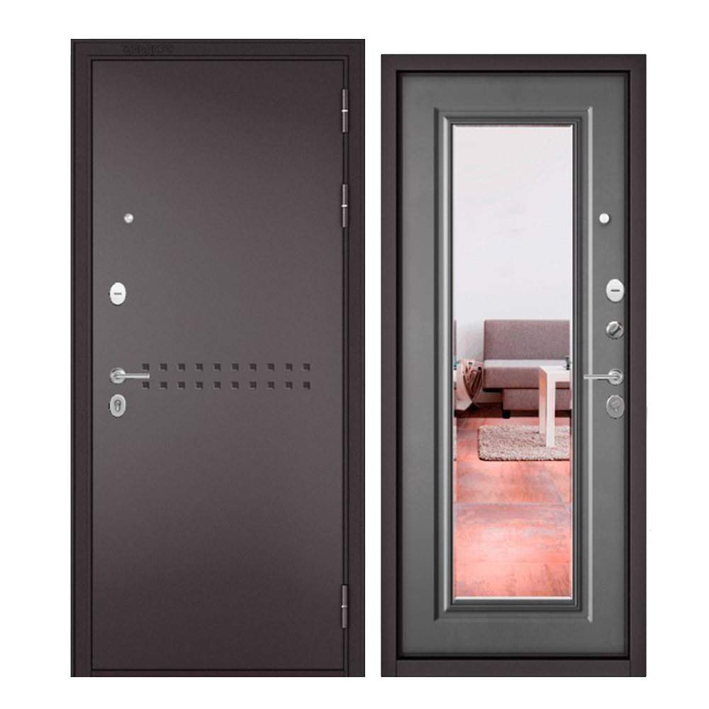 Дверь входная Бульдорс Бульдорс MASS 90 R-4 Зеркало - купить в Орехово-Зуево