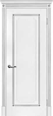 Дверь межкомнатная Мариам Флоренция-1 (патина серебро) - купить в Орехово-Зуево