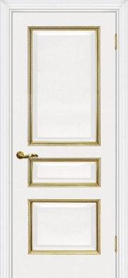 Дверь межкомнатная Мариам Мурано-2 патина золото/серебро - купить в Орехово-Зуево